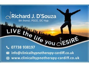 Richard J D'Souza Hypnotherapy Cardiff - Friday-Ad