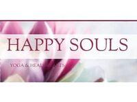 Happy Souls Yoga - Friday-Ad