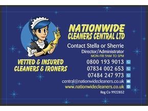 NATIONWIDE CLEANERS CENTRAL LTD - Friday-Ad