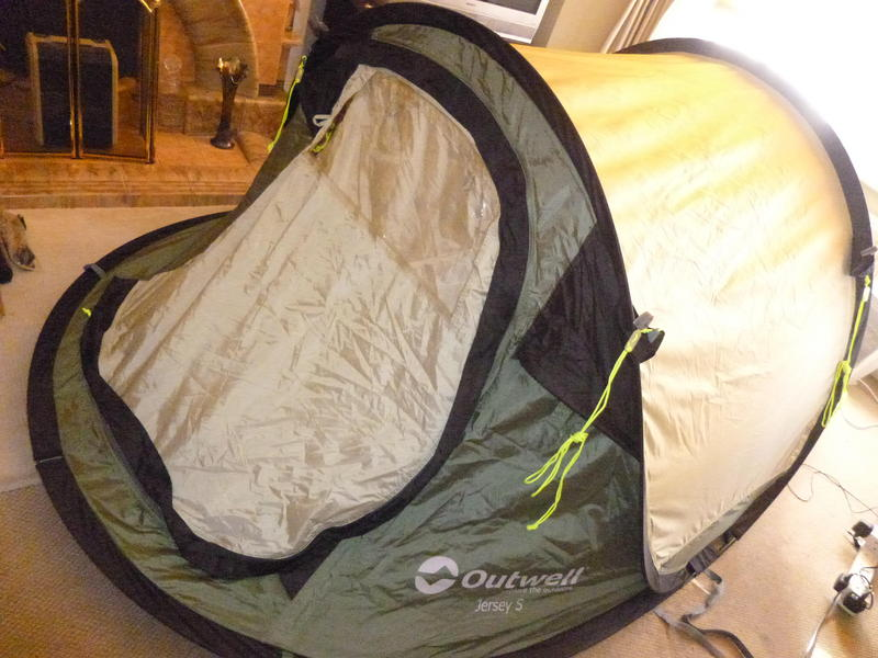 Outwell Jersey S 2 Person, Double skin pop up tent £42ono