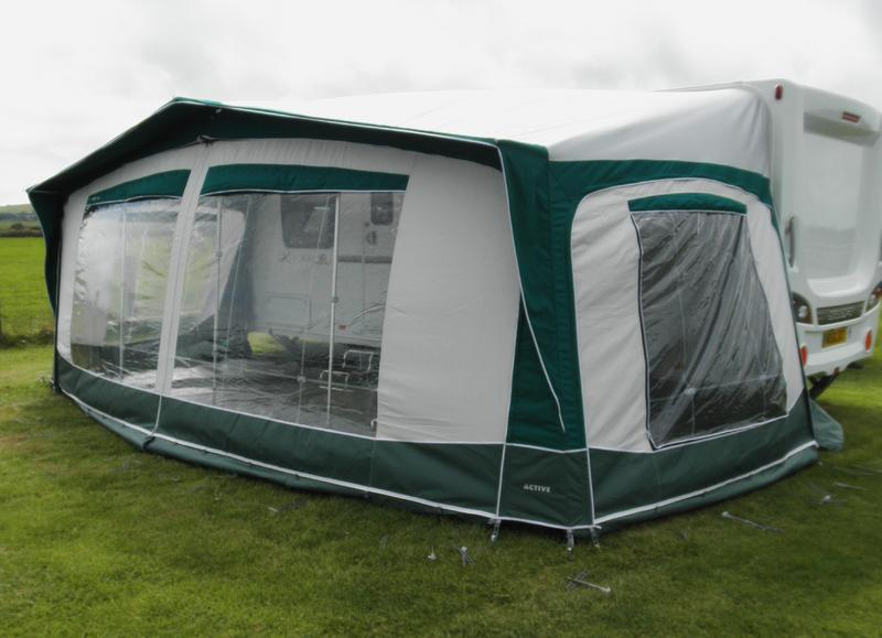 Bradcot Active Caravan Awning In Green Size 990 14 Very Little Used Excellent Condition In Northampton Expired Friday Ad
