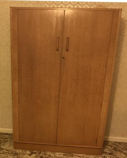 Original G Plan Mid Century 1950 S Brandon Vintage Double Wardrobe In Swindon Expired Friday Ad
