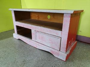 Solid Pine TV Stand For Upcycling Project in Lancing