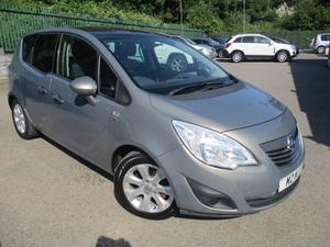 Vauxhall Meriva 2010