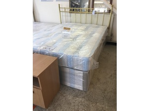 New 4ft6 Classic Ortho Divan Base & Mattress  in Eastbourne