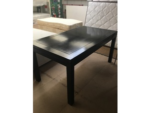 Large Black Dining Table in Eastbourne