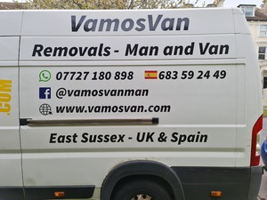 Man and Van Removals in Hastings, Sussex and beyond. in St. Leonards-On-Sea